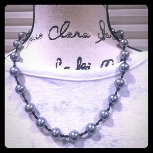 Dom by Dominique Cohen Gray Pearl Necklace